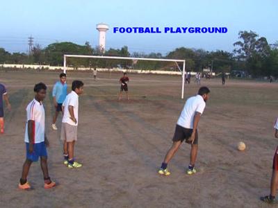 FOOTBALL PLAYGROUND